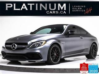 Used 2017 Mercedes-Benz C-Class AMG C63 S, 503HP, COUPE, NAV, PANO, BURMESTER, CAM for sale in Toronto, ON