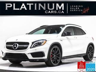 Used 2017 Mercedes-Benz GLA AMG GLA45, 375HP, NAV, PANO, CAM, AMG EXT/SEATS for sale in Toronto, ON