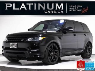 Used 2016 Land Rover Range Rover Sport Autobiography, 510HP, V8, SUPERCHARGED, NAV, CAM for sale in Toronto, ON