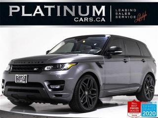 Used 2016 Land Rover Range Rover Sport SUPERCHARGED 510HP, V8, NAV, CAM, HEATED STEERING for sale in Toronto, ON