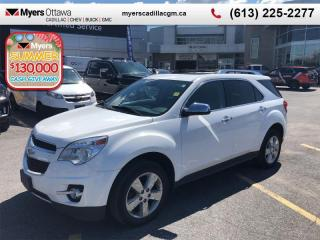 Used 2013 Chevrolet Equinox LTZ  LTZ, AWD, LEATHER, POWER TAILGATE, CERTIFIED for sale in Ottawa, ON