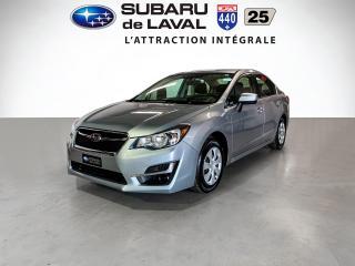 Used 2016 Subaru Impreza 2.0i Awd Berline for sale in Laval, QC
