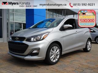 New 2020 Chevrolet Spark LT  -  Heated Mirrors for sale in Kanata, ON