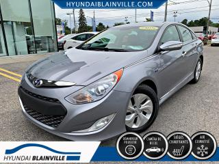 Used 2015 Hyundai Sonata Hybrid CAMÉRA DE RECUL, BLUETOOTH, A/C, BANCS for sale in Blainville, QC