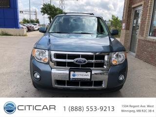 Used 2011 Ford Escape 2011 FORD ESCAPE HYBRID*LEATHER*SUNROOF*CAM*HTDSTS for sale in Winnipeg, MB