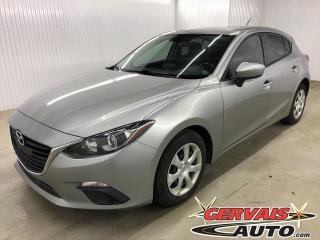 Used 2016 Mazda MAZDA3 GX Sport GPS Caméra A/C Bluetooth *Hatchback* for sale in Trois-Rivières, QC