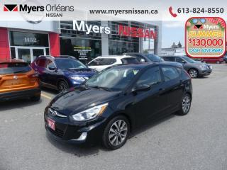 Used 2017 Hyundai Accent SE  - Sunroof -  Bluetooth - $83 B/W for sale in Orleans, ON