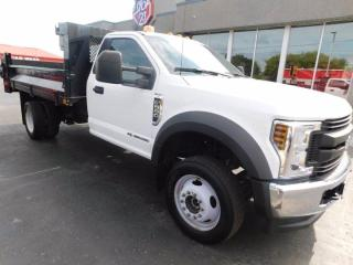 Used 2018 Ford F-550 Super Duty DRW REGULAR CAB 4WD LEATHER for sale in Listowel, ON