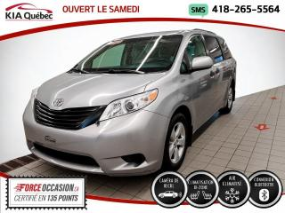 Used 2017 Toyota Sienna 7 PASSAGERS* CAMERA* BIZONE* for sale in Québec, QC