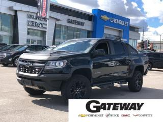 Used 2018 Chevrolet Colorado 4WD ZR2 / NAVI / HEATED LEATHER / DIESEL for sale in Brampton, ON