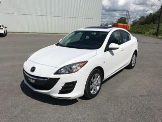 Used 2010 Mazda MAZDA3 Berline 4 portes, boîte manuelle, GX for sale in Québec, QC