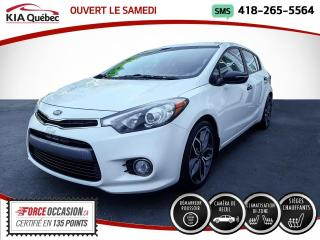 Used 2014 Kia Forte5 SX* CAMERA* SIEGES CHAUFFANTS* BIZONE* for sale in Québec, QC