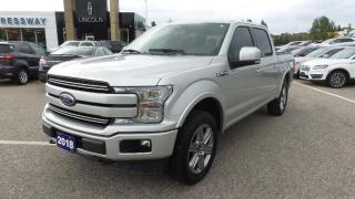 Used 2018 Ford F-150 Lariat for sale in New Hamburg, ON