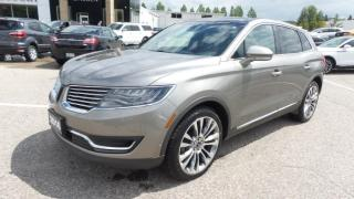 Used 2016 Lincoln MKX Reserve for sale in New Hamburg, ON