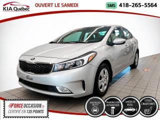 Used 2017 Kia Forte LX+* A/C* CARPLAY* CAMERA* SIEGES CHAUFF for sale in Québec, QC