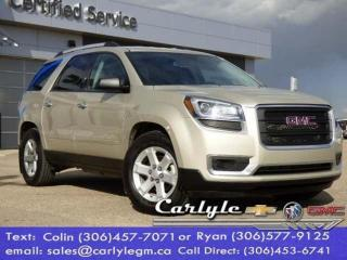 Used 2015 GMC Acadia SLE for sale in Carlyle, SK