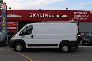 Used 2017 RAM Cargo Van ProMaster 1500 Low Roof 136  WB for sale in Surrey, BC