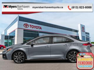 Used 2020 Toyota Corolla SE  - Upgraded Motor -  Aerodynamics - $142 B/W for sale in Ottawa, ON