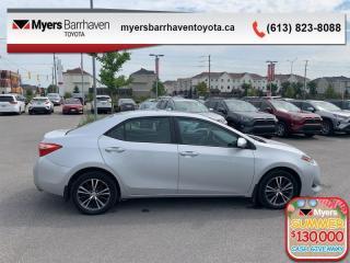 Used 2017 Toyota Corolla LE  - Heated Seats -  Bluetooth - $108 B/W for sale in Ottawa, ON