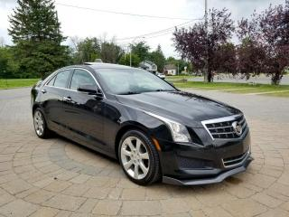 Used 2014 Cadillac ATS 3.6L AWD Cuir Toit Nav beau look for sale in St-Eustache, QC