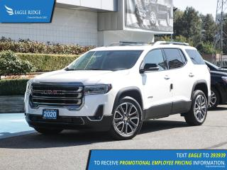 New 2020 GMC Acadia AT4 Heated Seats, Leather Upholstery for sale in Coquitlam, BC