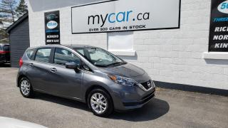 Used 2018 Nissan Versa Note 1.6 SV HEATED SEATS, BACKUP CAM, BLUETOOTH!! for sale in North Bay, ON
