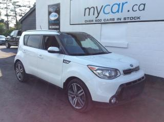 Used 2016 Kia Soul SX Luxury LEATHER, SUNROOF, HEATED SEATS!! for sale in North Bay, ON