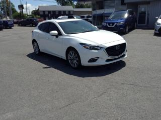 Used 2018 Mazda MAZDA3 GT LEATHER, SUNROOF, NAV, BEAUTIFUL CAR!! for sale in North Bay, ON