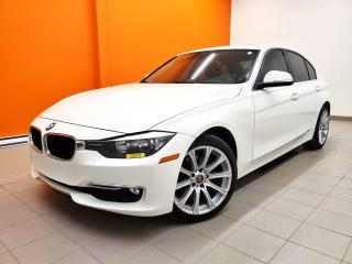 Used 2015 BMW 3 Series 320I XDRIVE SIÈGES CHAUFFANTS TOIT OUVRANT *CUIR* for sale in Mirabel, QC
