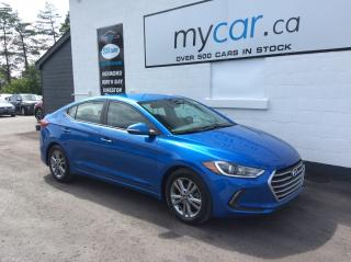 Used 2018 Hyundai Elantra GL HEATED SEATS, ALLOYS, BACKUP CAM!! for sale in North Bay, ON