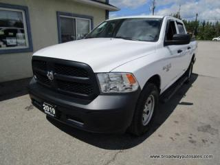 Used 2019 Dodge Ram 1500 LIKE NEW CLASSIC EDITION 6 PASSENGER 5.7L - HEMI.. 4X4.. CREW-CAB.. SHORTY.. FACTORY WARRANTY.. BACK-UP CAMERA.. BLUETOOTH SYSTEM.. for sale in Bradford, ON