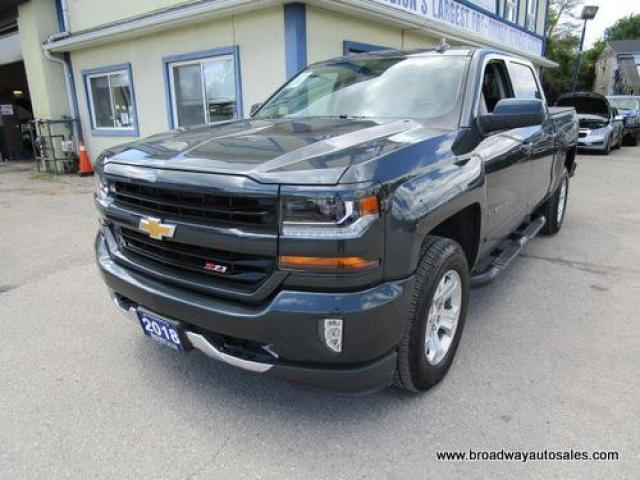 2018 Chevrolet Silverado 1500 LIKE NEW LT EDITION 6 PASSENGER 5.3L - VORTEC.. 4X4.. CREW-CAB.. SHORTY.. LEATHER.. HEATED SEATS.. BACK-UP CAMERA.. BLUETOOTH SYSTEM.. BOSE AUDIO..
