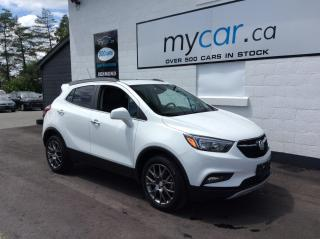 Used 2020 Buick Encore Sport Touring SUNROOF, HEATED SEATS, ALLOYS, MYCAR POWERBUY!! for sale in North Bay, ON