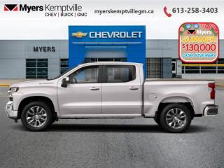 New 2020 Chevrolet Silverado 1500 Work Truck  - Assist Steps for sale in Kemptville, ON