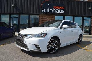Used 2015 Lexus CT 200h 200h/F-SPORT3/NAVI/LEATHER/SUNROOF/CAM for sale in Concord, ON