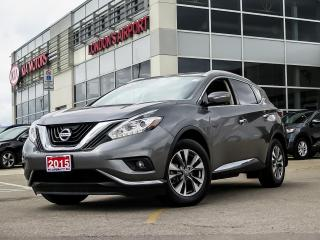 Used 2015 Nissan Murano SL AWD for sale in London, ON