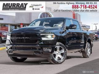 New 2020 RAM 1500 Sport 4x4 Crew Cab 5'7  Box for sale in Winnipeg, MB