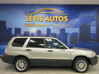Used 2007 Subaru Forester AUTOMATIQUE FULL ÉQUIPE TRES PROPRE 2334 for sale in Lévis, QC
