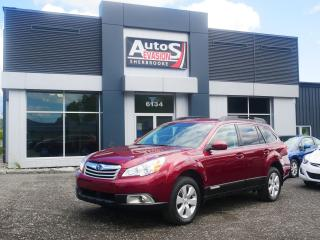 Used 2012 Subaru Outback Vendu, sold merci for sale in Sherbrooke, QC