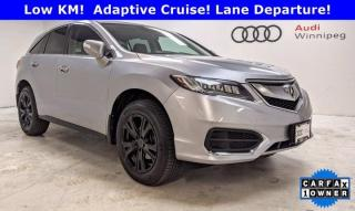 Used 2017 Acura RDX Tech Pkg w/Navigation *Low KM* for sale in Winnipeg, MB
