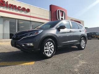 Used 2016 Honda CR-V EX-L for sale in Simcoe, ON