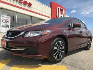 Used 2014 Honda Civic EX for sale in Simcoe, ON