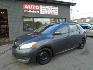 Used 2009 Toyota Matrix for sale in St-Hubert, QC