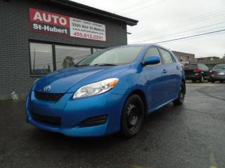 Used 2009 Toyota Matrix XR for sale in St-Hubert, QC
