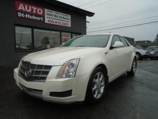 Used 2009 Cadillac CTS AWD for sale in St-Hubert, QC