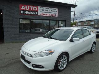 Used 2013 Dodge Dart SXT for sale in St-Hubert, QC