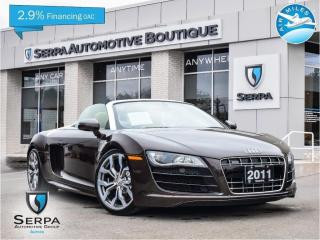Used 2011 Audi R8 5.2 |V10|TEAKBROWN|NAV|RTRONIC|COVT| for sale in Toronto, ON
