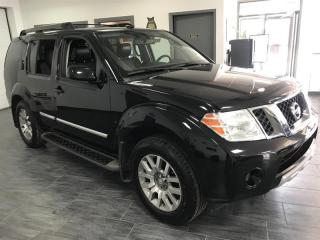 Used 2012 Nissan Pathfinder 4WD 4dr LE CUIR TOIT CAMERA 7 PASS for sale in Châteauguay, QC