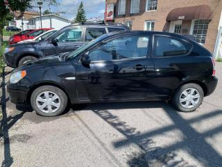 Used 2007 Hyundai Accent Hayon 3 portes, boîte automatique, GS for sale in Pointe-Aux-Trembles, QC