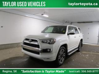 Used 2017 Toyota 4Runner SR5 Limited Package LOADED! for sale in Regina, SK